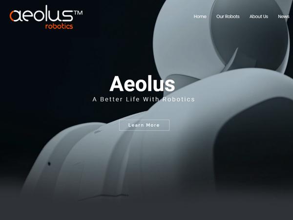 杰鼎網站設計範例-Aeolus Robotics 香港商睿智通